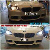 BMW F10 CANBUS TERMINATOR HID XENON CONVERSION SLIM KIT H7 35w 43K 6000K 5k 10k