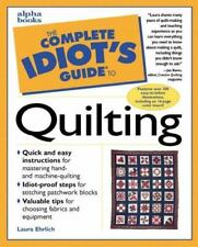 The Complete Idiot's Guide to Quilting paperback for dummies FREE SHIPPING