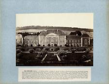 A. Rouget. France, La Chaise, Château  Vintage albumen print.  Tirage albuminé