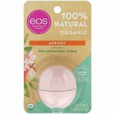 [eos] Evolution of Smooth 100% Natural ORGANIC Sphere Lip Balm (APRICOT) USA NEW