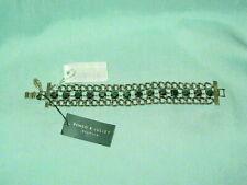 Costume Jewelry Bracelet New With Tags Romeo & Juliet Multi Color Rhinestones