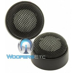 """INFINITY PERFECT -T 1"""" ALUMINUM KAPPA CAR AUDIO TWEETERS from 6.1 COMPONENTS NEW"""