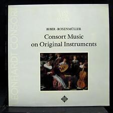 GUSTAV LEONHARDT CONSORT music on original instruments LP Mint- SAWT 9556