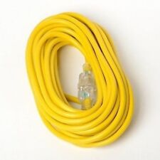 100 Foot Long 12-3 Electric Electrical Extension Power Cord 12 Gauge Guage