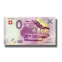 2017-3 France UEBR Zoologique De Paris Euro Billet Souvenir Banknote Euro Schein