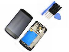 Pour LG E960 Google Nexus 4 lcd numériseur écran tactile LCD Cadre Frame Black