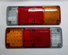 PAIR 12V LED REAR TAIL LIGHTS LAMP CHASSIS BOX TRUCK FOR VECO PEUGEOT VW RENAULT