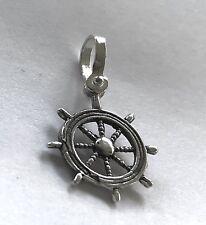 ATOCHA Pendant Ships Wheel  925 Sterling Silver Sunken Treasure Jewelry