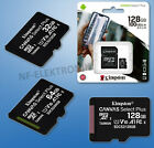 Original Kingston Micro SD SDHC SPEICHERKARTE 32GB 64GB 128GB,100MB/s UHS-I SDXC <br/> ✅ ORIGINAL WARE ✅ DE- HÄNDLER ✅ BLITZVERSAND ✅ RECHNUNG