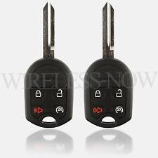 2 Car Key Fob Keyless Entry Remote For 2011 2012 2013 2014 Lincoln Mark LT