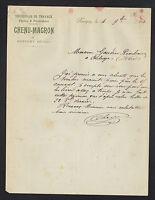 """REVIGNY (55) Ets de TRAVAUX PUBLICS """"CHENU & MAGRON"""" en 1910"""