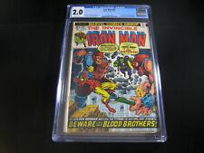 Iron Man #55 CGC 2.0 (1973 Marvel)  1st App Thanos