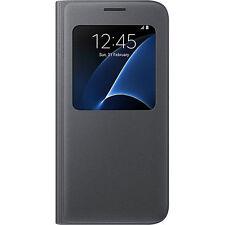 Samsung EFCG930PBEGWW View Cover Black for Galaxy S7 S