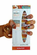 DinkiBelle Boom Pow Nail Wraps lasts up to 14 days UK quality (pack of 20) SALE