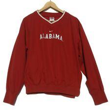 Nike Boys' Pullover Jacket Alabama Crimson Tide Team Side Zip Red Large 12-14