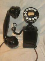 "Western Electric Model 201 ""Hanging Handset"" Telephone."