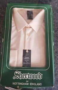 """BNIB Original & Vintage 1960's/70's Town & Country  Bri Nylon shirt """"17"""" boxed"""
