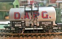 Marklin HO Scale 4674 D.A.P.G. Single Dome Tanker Car Wagen In original Box