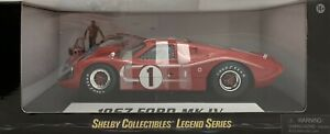 Diecast 1:18 Ford Shelby 1967 GT 40 Mk IV (Red) #1