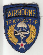 WWII English Made Airborne Troop Carrier Patch