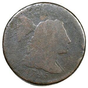 1795 Plain Edge Liberty Cap Large Cent Coin 1c