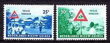 Dutch New Guinea - 1962 Safety in traffic - Mi. 73-74 MH