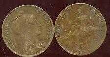 FRANCE FRANCIA   5 CENTIMES DUPUIS 1916 sans étoile  ( ca )