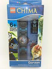 LEGO Legends of Chima Gorzan With Mini-Figure Link Kids Watch 9000447 NEW!