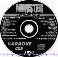 Monster Hits Karaoke CD+G vol-1028/ Alabama,Randy Travis,Vince Gill,Joe Diffie+
