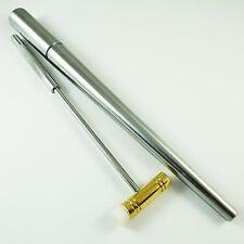 Mandril anillo de acero y martillo de fibra de Latón Herramienta de Modelado Joyeros Craft