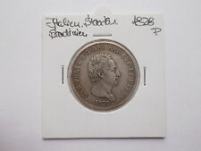Italien / Staaten - Sardinien 5 Lire 1828 P, ss/ vzgl., Silber . #MAK016