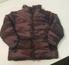 Appaman Mini Boys Down Puffy Coat 18 to 24 months Brown Camo Jacket