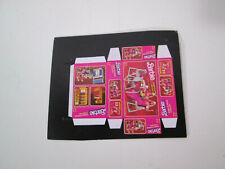 Barbie size Pink Box for dollhouse miniatures Dream Furniture dining table 1/6