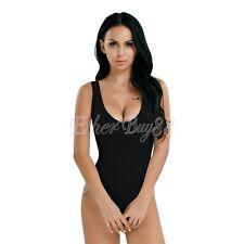 Women Lingerie See-through High Cut Bikini Thong Bodysuit Swimwear Nightwear