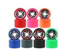 Sure Grip Fugitive Roller Skate Derby Wheels set of 8 NEW hot PINK 92a
