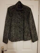 BNWOT M&Co Grey & Black Jacket  -  Size 18