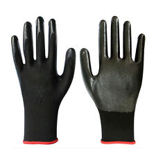 1 Pair Worker Latex Rubber Work Labor Anti Prick Gloves Safely Gloves WB