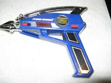 VINTAGE 1997 BANDAI POWER RANGERS  BLUE SPACE ASTRO BLASTER
