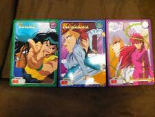 Anime Yu Yu Hakusho Banpresto Bandai 1994 Rare Oversized Card Set