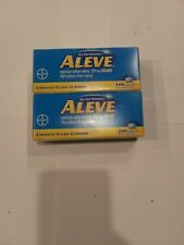 Aleve 2x200=400 caplets per.order exp. 04/21Free Shipping