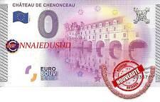 Billet Touristique 0 Euro 2015 - Chateau de Chenonceau