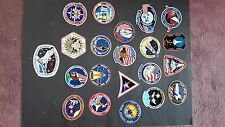 Lot of 21 NASA Mission stickers