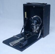 POCKET SENECA No.29 Antique Folding Film Camera Wollensak Lens w Case Backs USA