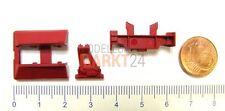 Ersatz-Kleinteile Indusi rot z.B. für FLEISCHMANN Dampflok BR 03 Spur H0 - NEU