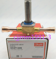 NEW IN BOX * DANFOSS EVR20 032F224331 SOLENOID VALVE W// TERMINAL BOX COIL