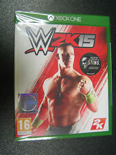 WWE 2K15  XBOX ONE  SIGILLATO IMPORT  PAL