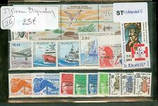 FRANCE SAINT PIERRE ET MIQUELON LOT DE TIMBRES NEUFS + CARNET LOT 26