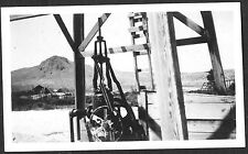 VINTAGE PHOTOGRAPH 1911 #5 WELL PUMP LOOKING WEST GREEN RIVER WYOMING OLD PHOTO