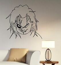 Chucky Child's Play Wall Sticker Vinyl Decal Movie Art Bedroom Horror Decor ckp4