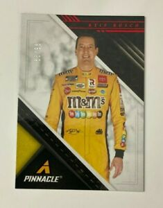 2021 Panini Chronicles NASCAR Racing PINNACLE - KYLE BUSCH Red PRIZM 96/99 #4